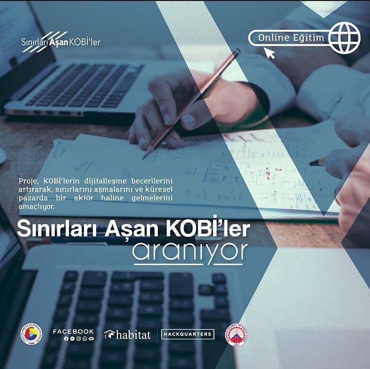 Sınırları Aşan KOBİ'ler online eğitim programı başvuruları başladı